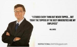 Bills Gates Success Quotes