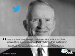 Ross Perot, Founder of Electronic Data Systems and Perot Systems # ...