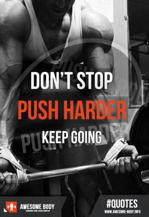 Push Harder Quotes Push harder quotes