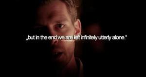 Klaus quote