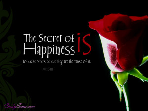 the-secret-of-happiness-is-motivational-wallpaper