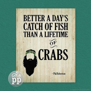Duck Dynasty Quote Art Printable - Phil Robertson -