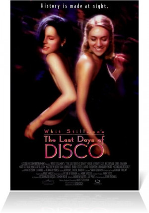 Theatrical release poster - The Last Days of Disco