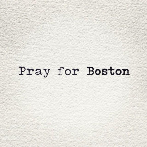 Sending thoughts and prayers to all the marathon runners/spectators