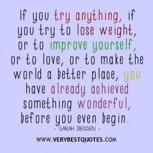 encouraging quotes to try something new