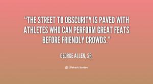 George Allen Sr Quotes