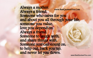 Mother Love Quotes For Her Children .