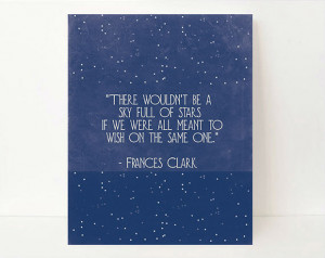 Named by Art Inspirational Stars Wall Art Quote Print from Etsy, $17 ...