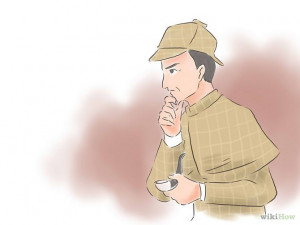 How to Develop the 'Sherlock Holmes' Intuition: 12 Steps. Looks like a ...