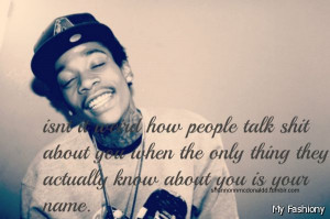 Wiz Khalifa Quotes There Girls And Boys – Viewing Gallery Khalifa ...