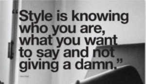 Monday Style Quote