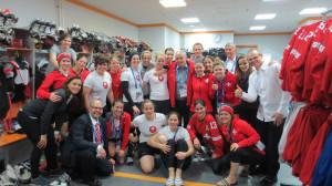 Ehemalige TCOB Juniorin gewinnt Olympia-Bronze in Sotschi