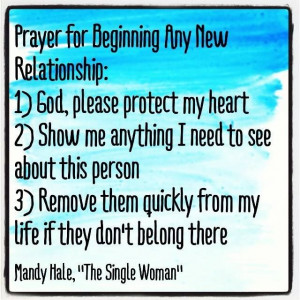 Prayer for new relationships