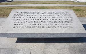 world war 2 memorial dc quotes