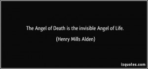 Death Quote Life And Angel Picture