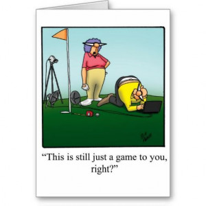 Funny #Golf #Birthday #Card #GettingOlder #JustAGame #BirthdayHumor # ...