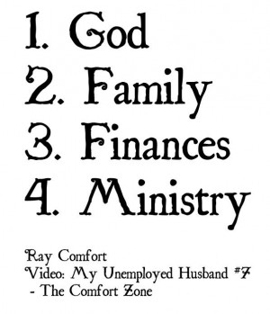 Ray Comfort & CO in the Comfort Zone: My Unemployed Husband number 7 ...