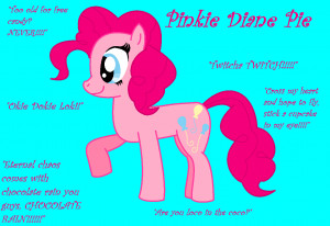 My Little Pony Pinkie Pie Quotes