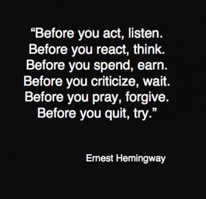 Today's quote