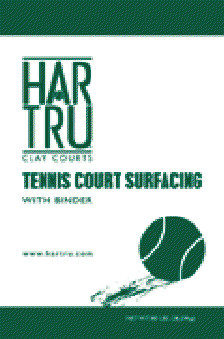 ... Binder for Har-tru Courts with Sprinkler System | CONTACT US FOR QUOTE
