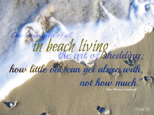 Beach Living Quote of the Day