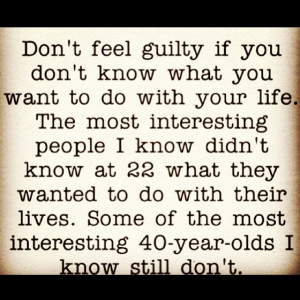 Dont Feel Guilty…