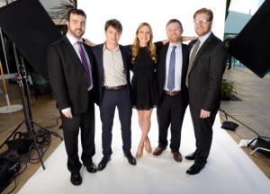 Benh Zeitlin, Dan Janvey, Michael Gottwald, Josh Penn and Lucy Alibar
