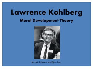Lawrence Kohlberg - Download as PowerPoint