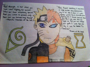 Gaara and Naruto quotes!!