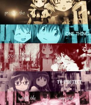 SakuraAnimal Quotes, Magica Madoka, Madoka Magica Quotes, Kyoko Sakura ...
