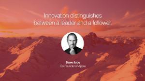 follower. Steve Jobs Co-Founder of Apple entrepreneur business quote ...