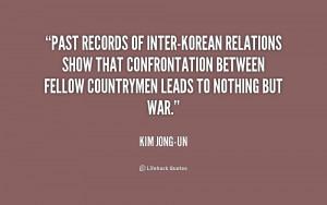 kim jong il quote