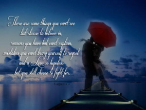 Hopeless Love Quotes And Sayings A love so hopeless quote