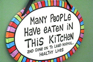 ... kitchen is safe to eat check out this colorful and funny kitchen
