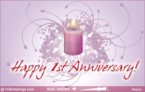 happy 1st wedding anniversary greetings for wedding anniversary