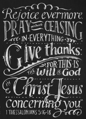 Pray without ceasing quote faith bible thanks pray christian scripture