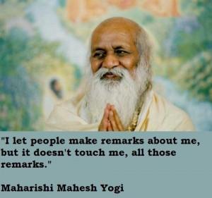 Maharishi mahesh yogi quotes 1