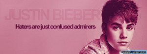 Justin Bieber Pink Facebook Covers