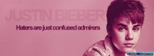 Justin Bieber Pink Facebook Covers