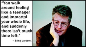 There Are No Innocents: 11 Essential Stieg Larsson Quotes