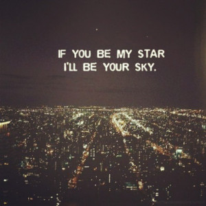 sinem_kurtoglu | #love #cute #quote #stars #sky | Webstagram - the ...