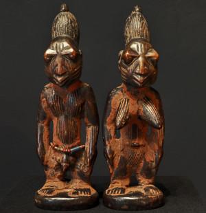 Ibedji Paar Yoruba Nigeria