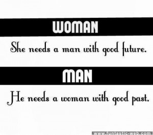 Difference between a man and a woman