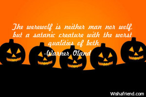 Funny Halloween Quotes...