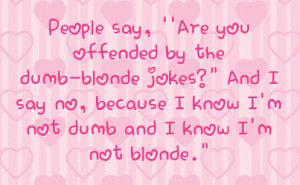 Related Pictures dumb blonde quotes funny quotes