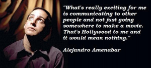 Alejandro amenabar famous quotes 3