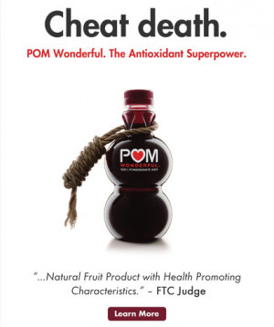 POM has biggest marketing chutzpah on the planet! (Purple Cow)