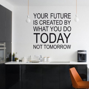 Home › Quotes › Create Your Future Wall Sticker Quote