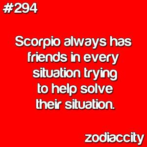 Scorpio Zodiac Sign sayins