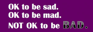 Military Wife Quote: OK To Be Sad